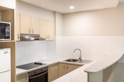 The Brighton Toronto 1 Bedroom King Kitchen